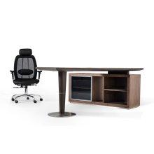 Modrest Lincoln - Modern Office Desk and Side Storage Cabinet