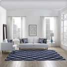 Marja Moroccan Trellis 8x10 Area Rug in Navy and Ivory Product Image