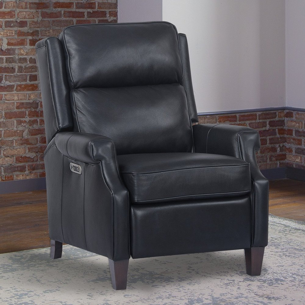 DIXON - NAVY Power High Leg Recliner