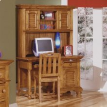Student Desk, Organization Hutch and Desk Chair