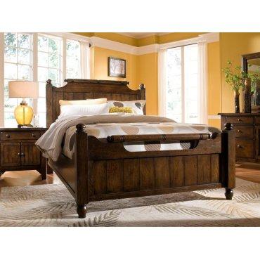 Attic Heirlooms Feather Queen Bed