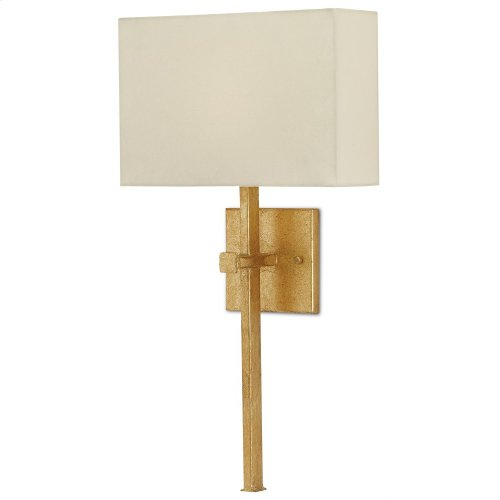 Ashdown Gold Wall Sconce