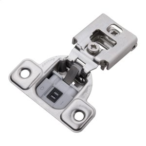 Soft Close 1/2 In. Overlay Face Frame Polished Nickel Hinge Product Image