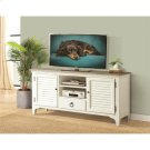 Myra - 64-inch TV Console - Natural/paperwhite Finish Product Image