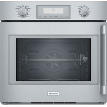 30-Inch Professional Single Wall Oven with Left Side Opening Door