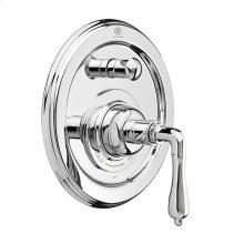 Ashbee Pressure Balanced Tub/Shower Trim with Lever Handle - Polished Chrome