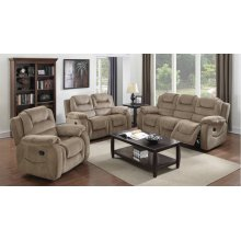 Sunset Trading Aspen 3 Piece Reclining Living Room Set
