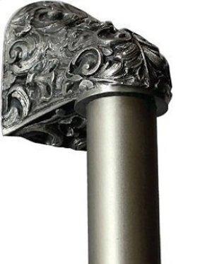 Acanthus - Antique Pewter Plain Bar Product Image