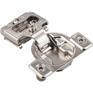 """Standard Duty 7/16"""" Overlay Self-close Compact Hinge with Dowels Product Image"""