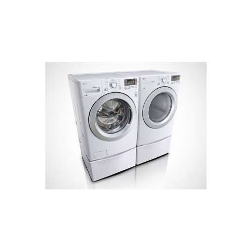 6.3 Total Capacity LG Twinwash Bundle With LG Sidekick and Gas Dryer