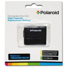 Polaroid Rechargeable Battery Panasonic VBG130 Replcmnt