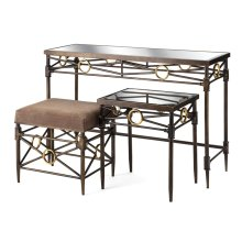 PGA TOUR Clubhouse Table & Bench - Set of 3