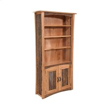 Hampton Heath 2 Door Bookcase