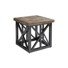Arch Salvage Outdoor Oliver End Table