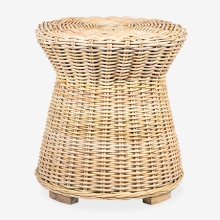 (LS) Seascape Rattan Side Table - Natural (20x20x22)