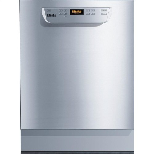 PG 8061 U [MK 240V 3 Phase] Built-under fresh water dishwasher ADA compliant, NSF/ANSI 3 certified for sanitization. Industrial use only.