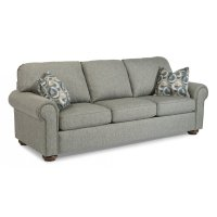 Preston Fabric Queen Sleeper with Nailhead Trim Product Image