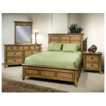Alta King Panel Bed