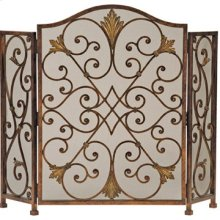 Rockefeller 3-Panel Fireplace Screen