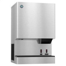 DCM-300BAH-OS, Cubelet Icemaker, Air-cooled, Built in Storage Bin
