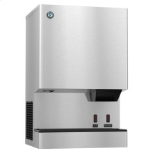 DCM-300BAH-OS, Cubelet Icemaker, Air-cooled, Built in Storage Bin