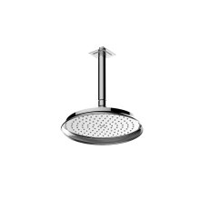 Finezza Showerhead with Ceiling Arm