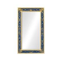 Rectangular mirror with gilt Renaissance decoration (Azure)