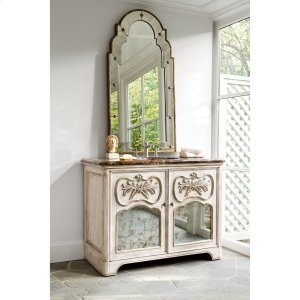 Laurel Sink Chest - White Product Image