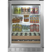 Monogram Stainless Steel Beverage Center