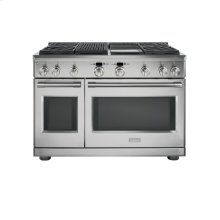 """Monogram 48"""" Dual-Fuel Professional Range with 4 Burners, Grill, and Griddle (Natural Gas) - AVAILABLE EARLY 2020"""