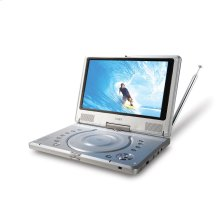 """10"""" WIDESCREEN TFT PORTABLE DVD/CD/MP3 PLAYER AND NTSC TV TUNER with SWIVEL SCREEN"""