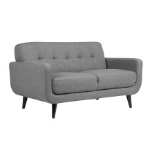 Casper Gray Sofa, Love, Chair, U7778