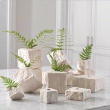 Rocky Block Vase-Tilted-Lg