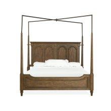 Complete Queen Canopy Bed