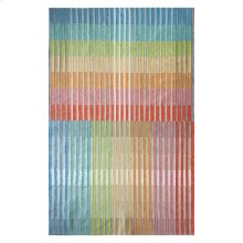 Chromatic Plaid Rug, MULTI, 26X8