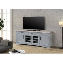 Americana Modern Dove 76 in. TV Console