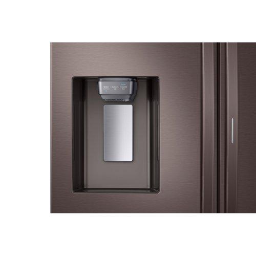 22 cu. ft. Food Showcase Counter Depth 4-Door French Door Refrigerator in Tuscan Stainless Steel