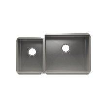 """J7® 003962 - undermount stainless steel Kitchen sink , 12"""" × 16"""" × 8""""  21"""" × 18"""" × 10"""""""