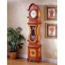 Glass Front Grandfather Clock