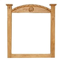 Mansion Mirror W/ Rope Star