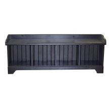 4-Cube Low Cubby Bench