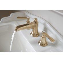 Widespread Lavatory Faucet With Channel Spout - Less Handles