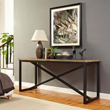 Traverse Wood Stand in Brown