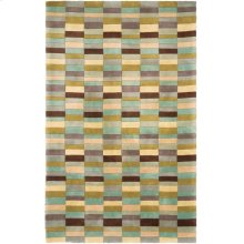 RUG,CONTEMPORARY 100% WOOL,TUFTED