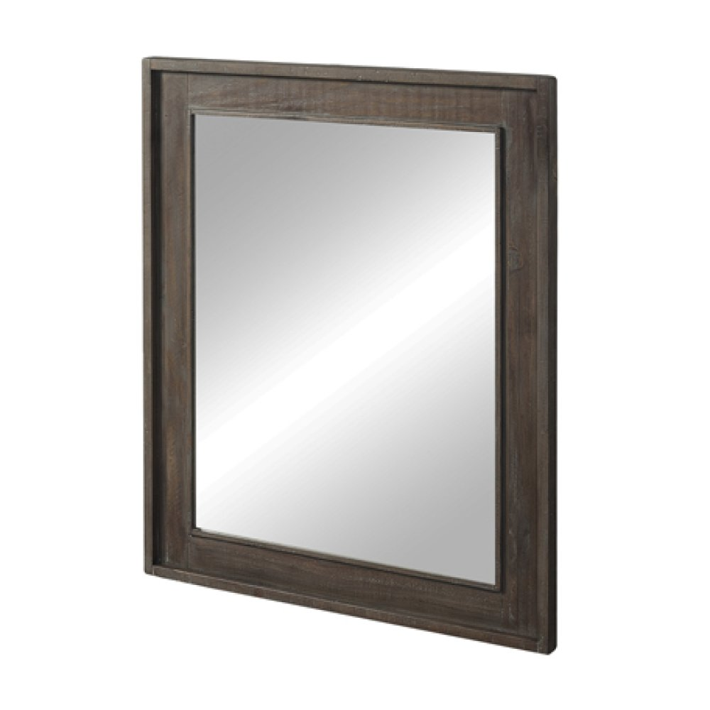 "River View 30"" Mirror - Coffee Bean"