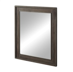 """River View 30"""" Mirror - Coffee Bean Product Image"""