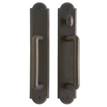 """Arched Patio Sliding Door Set - 2 1/2"""" x 13"""" Silicon Bronze Brushed"""