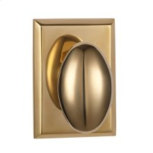 CASTELLO 05 KNOB - Polished Unlacquered Brass