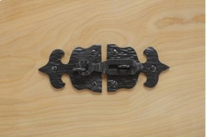 """Black 5.5"""" Furniture Hasp 733794A Product Image"""