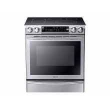 5.8 cu. ft. Slide-In Electric Range with Flex Duo in Stainless Steel